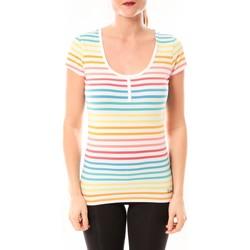 Abbigliamento Donna T-shirt maniche corte Little Marcel Tee-shirt Tatoum Multi 318FB Blanc Bianco