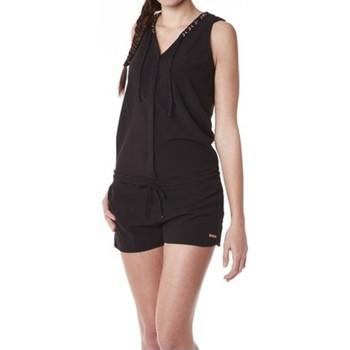 Abbigliamento Donna Tuta jumpsuit / Salopette Little Marcel Combishort Cosbi E15WSHO0203 Noir Nero