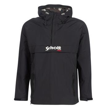 Abbigliamento Uomo Giubbotti Schott PIKES 1 Nero