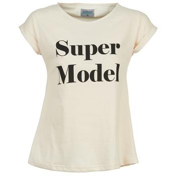 Abbigliamento Donna T-shirt maniche corte Compania Fantastica HITTU Bianco