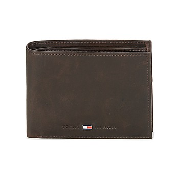 Borse Uomo Portafogli Tommy Hilfiger JOHNSON CC AND COIN POCKET Marrone