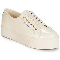Scarpe Donna Sneakers basse Superga 2790 LEAPATENT Ecru