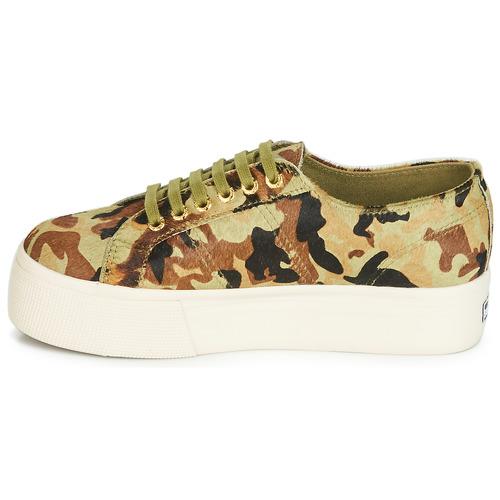 Basse Leahorse Camo 2790 Superga Sneakers Donna rxBdoCe