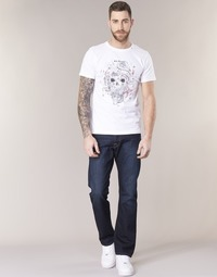 Abbigliamento Uomo Jeans dritti Replay WAITON Blu / Scuro