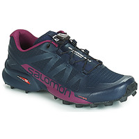 Scarpe Donna Running / Trail Salomon SPEEDCROSS PRO 2 Nero / Viola