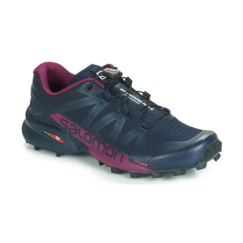 Scarpe Donna Running / Trail Salomon SPEEDCROSS PRO 2 Nero / Viola