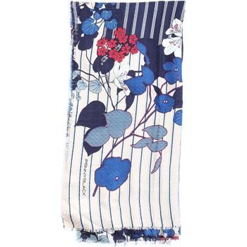Accessori Donna Sciarpe Pennyblack 55440818 Beige Blu e Rossa