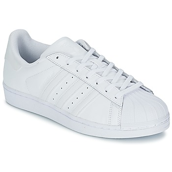 Scarpe Sneakers basse adidas Originals SUPERSTAR FOUNDATION Bianco