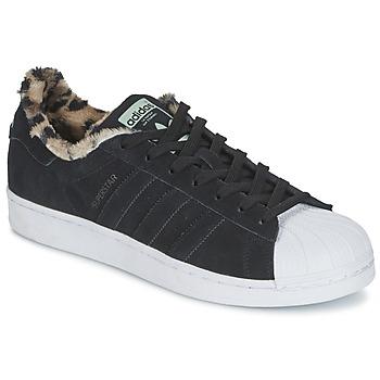 Scarpe Donna Sneakers basse adidas Originals SUPERSTAR W Nero