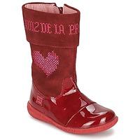 Scarpe Bambina Stivali Agatha Ruiz de la Prada DAFNE Rosso