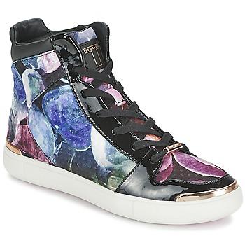 Scarpe Donna Sneakers alte Ted Baker MADISN Nero / Multicolore