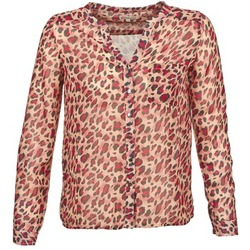 Abbigliamento Donna Camicie maniche lunghe Best Mountain AZARI Beige / Rosso
