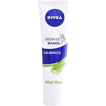 Bellezza Trattamento mani e piedi Nivea Aloe Vera Crema Manos Calmante  100 ml