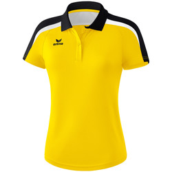 Abbigliamento Donna Polo maniche corte Erima Polo femme  Liga 2.0 jaune/noir/blanc