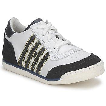 Scarpe Bambino Sneakers basse Hip ARCHIK Bianco / Blu