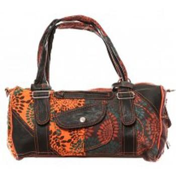 Borse Donna Borse a spalla Bamboo's Fashion Sac à main Doha GN-146 Orange/Marron Arancio