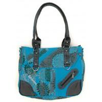 Borse Donna Bisacce Bamboo's Fashion Petit Sac Besace Sydney GN-147 Bleu Blu