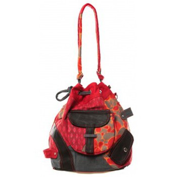 Borse Donna Bisacce Bamboo's Fashion Sac cabas Barcelone GN-1411 Rouge Rosso