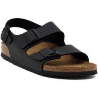 Scarpe Sandali Birkenstock MILANO BLACK CALZ S Multicolore
