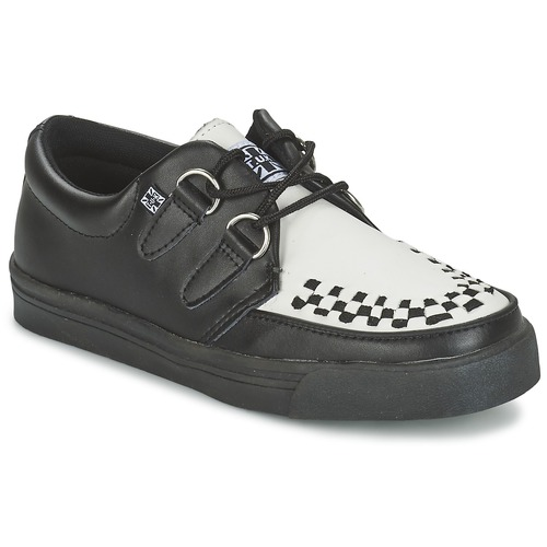 Scarpe Derby TUK CREEPERS SNEAKERS Nero / Bianco