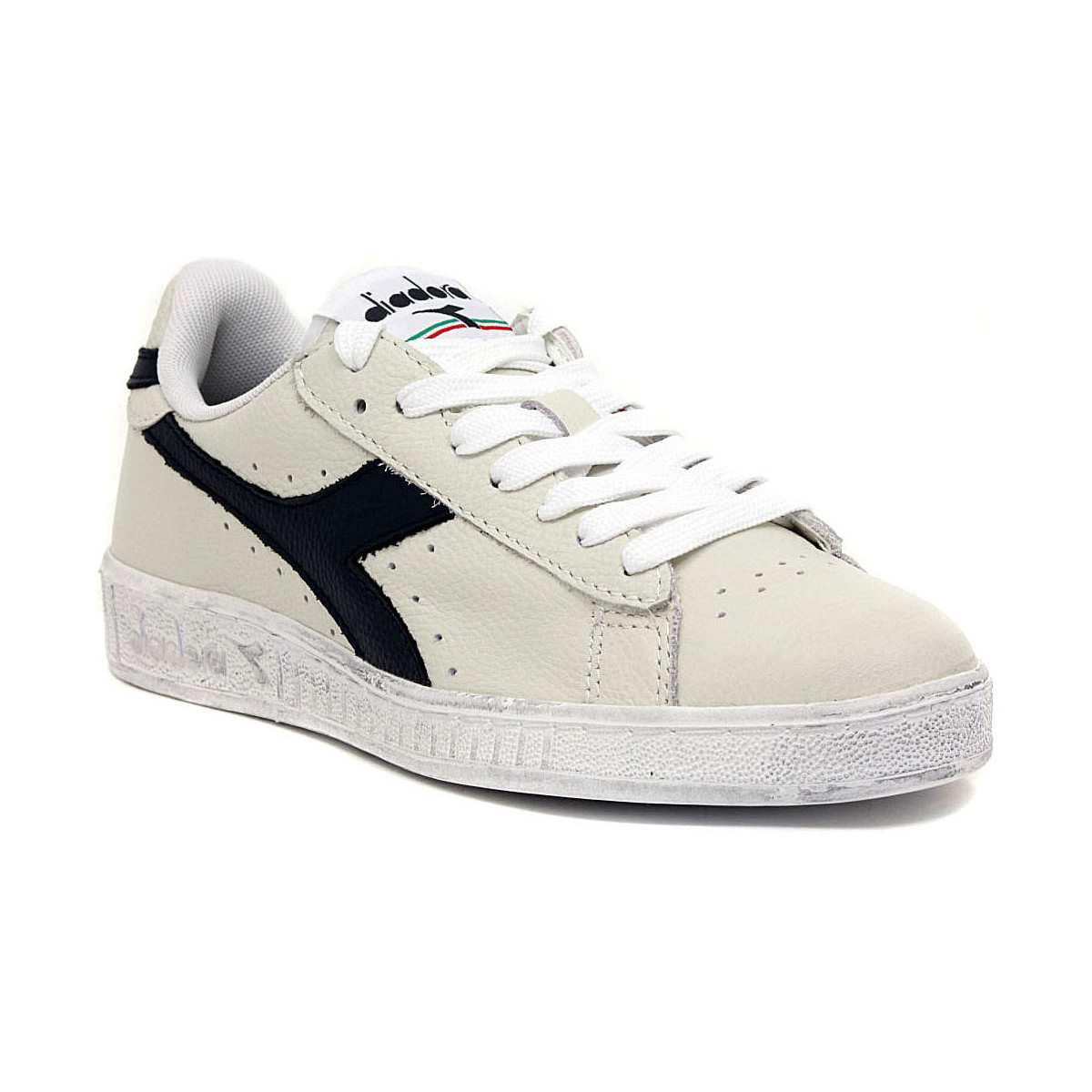 diadora game high scarpe donna bianche pelle 158518 scarpe diadora bianche 1f8d8f2b069