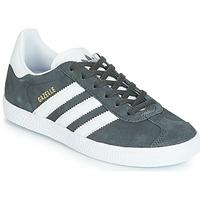 Scarpe Unisex bambino Sneakers basse adidas Originals GAZELLE J Grigio