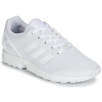 Scarpe Unisex bambino Sneakers basse adidas Originals ZX FLUX J Bianco
