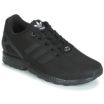 Scarpe Bambino Sneakers basse adidas Originals ZX FLUX J Nero