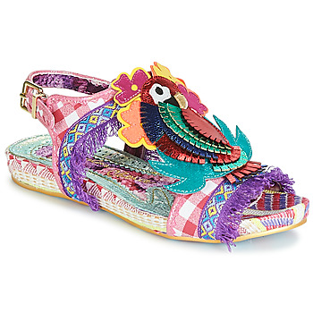 Scarpe Donna Sandali Irregular Choice JOLI POLLY Rosa