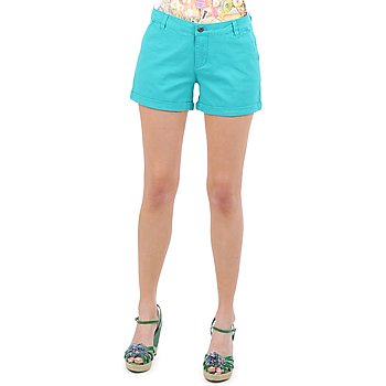 Abbigliamento Donna Shorts / Bermuda Vero Moda RIDER 634 DENIM SHORTS - MIX TURQUOISE