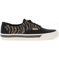 Scarpe Uomo Sneakers basse Guess Stringata marrone,nero,multicolore