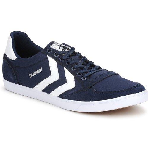 Hummel TEN STAR LOW CANVAS Marine  Scarpe Sneakers basse  45,50