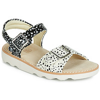 Scarpe Bambina Sandali Clarks Crown Bloom K Nero