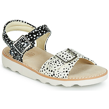Scarpe Bambina Sandali Clarks Crown Bloom T Nero