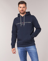 Abbigliamento Uomo Felpe Tommy Hilfiger TOMMY LOGO HOODY Marine