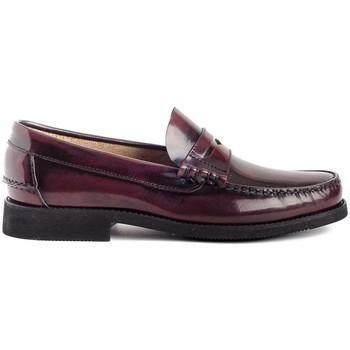 Scarpe Uomo Mocassini Colour Feet OXFORD Rosso