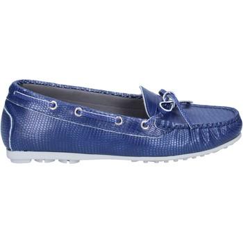 Scarpe Donna Mocassini K852 & Son mocassini blu pelle BT933 blu