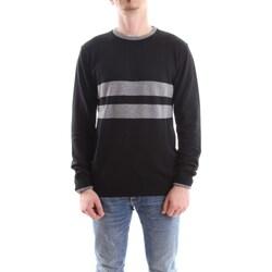 Abbigliamento Uomo Maglioni Daniele Alessandrini fm903293807-maglia-freestyle 111-nero-grigio