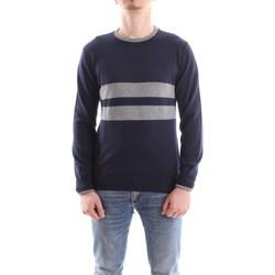 Abbigliamento Uomo Maglioni Daniele Alessandrini fm903293807-maglia-freestyle 2311-blu-grigio
