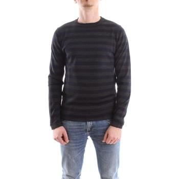 Abbigliamento Uomo Maglioni Daniele Alessandrini fm903243807-maglia-arabek 1023-antracite-blu
