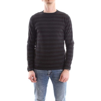 Abbigliamento Uomo Maglioni Daniele Alessandrini FM903243807-MAGLIA-ARABEK 101-antracite-nero