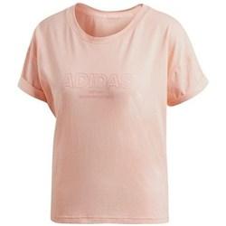 Abbigliamento Donna T-shirt maniche corte adidas Originals Ess Allcap Tee