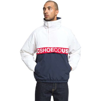 Abbigliamento Uomo Giubbotti DC Shoes edyjk03178-dc-giacca-howsthat BTL0-blu-bianco