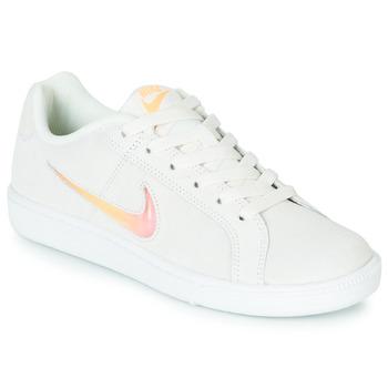 Scarpe Donna Sneakers basse Nike COURT ROYALE PREMIUM W Bianco / Arancio