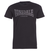 Abbigliamento Uomo T-shirt maniche corte Lonsdale LOGO KAI Nero