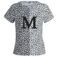 Abbigliamento Donna T-shirt maniche corte Marciano RUNNING WILD Nero / Bianco