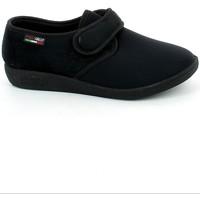 Scarpe Donna Pantofole Emanuela 655.01_39 NERO