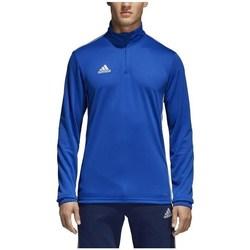 Abbigliamento Uomo T-shirts a maniche lunghe adidas Originals Core 18 Training Top Azzuro