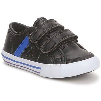 Scarpe Bambino Sneakers basse Le Coq Sportif SAINT MALO Nero / Blu