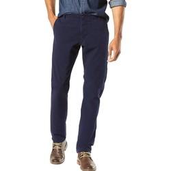 Abbigliamento Uomo Pantaloni 5 tasche Dockers ALPHA KHAKI 360 blu marino